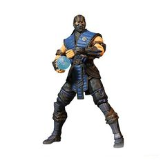 """Mezco Mortal Kombat X Sub-Zero 4-Inch Action Figure. This icy assassin is one of the most cold-blooded of all Mortal Kombat characters, and just like each of the three figures in our initial wave, Sub-Zero is one of the few to be a playable character in every version of the game. To ensure a game accurate likeness, correct to the finest detail, our award-winning design team has digitally sculpted the figures using the digital files from the game developers themselves. This 4"""" scale…"""
