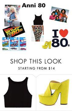 """""""anni 80"""" by mazzagliadavide on Polyvore featuring moda e Luichiny"""