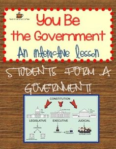 Hands on is the best way for students to develop a deep understanding of how things work, and that's exactly what they will do with this exciting activity! Students will form the 3 branches of government and work together to propose, pass, and interpret laws for their school.
