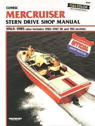 MerCruiser Manual - This Clymer Stern Drive service and repair manual covers the MerCruiser inboard for the years 1964-1985 but also includes 1986-1987 TR and TRS models.Models Included are:  MerCruiser Model 0,MerCruiser Model 215,MerCruiser Model I,MerCruiser Model II,MerCruiser Model II-TR,MerCruiser Model II-TRS,MerCruiser Model III.