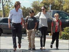 Angelina wins  custody battle  against Brad Pitt