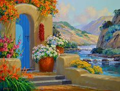 River's Radiance 24″ x 30″ Original Oil Painting