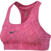 NIKE PRO Printed Ladies DRI-FIT Sports Bra Fuchsia [L] Large