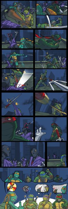 TMNT-Relaying Sai by tmask01