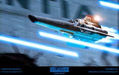 TV Show Battlestar Galactica Spaceship Wallpaper