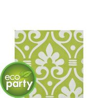 Every party needs beverage napkins and these are a small way to carry the design theme without overwhelming the table.