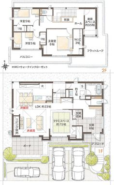 図面 Japanese Tea House, Traditional Japanese House, Japan Architecture, Architecture Design, Japan House Design, Flat Plan, Muji Home, Sims House, Room Planning