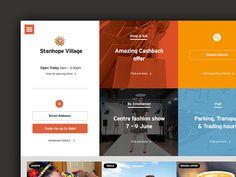 Mirvac Retail Responsive Design concept by Shane Allen