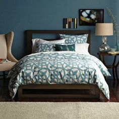 My Dream Home: 12 Stunning Bedroom Paint Color Ideas. Dagmar's Home. DagmarBleasdale.com #paint #decorating #bedroom #painting #DIY