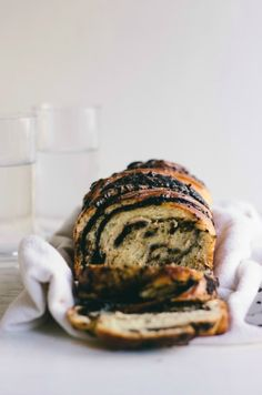 braided chocolate and cacao nib bread | bread in 5 #chocolate