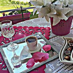 En Şık Türk Kahvesi Sunumu Örnekleri - Sunum Önemlidir, Instagram Türk Kahvesi Sunumları (14)
