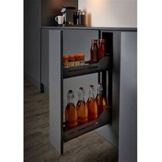 Base pull out units, Peka, Peka Libell Snello Base Unit Pull-Out Storage Design, Furniture Fittings, Kitchen And Bath, Liquor Cabinet, Kitchen Cabinets, Appliances, The Unit, Base, House Design