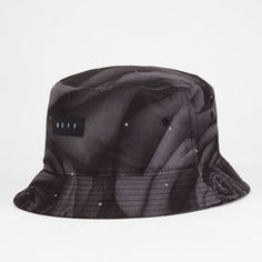 7a5e45e8cb86 NEFF Black Rose Mens Bucket Hat - BLACK - 14HT00FB