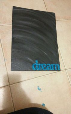 """Dream"" canvas"