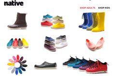Czy ktoś jeszcze nie jest przekonany do butów z tworzywa?    Ja przeszłam przez Crocs, Melissa, teraz od ponad pół roku Native Shoes wzbudzają mój zachwyt..