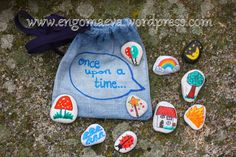 "DiY, Storytelling with stones: ""Once upon a time ..."""