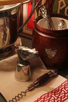 Equestrian Style with stirrup cup