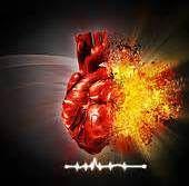 abstract heart art -