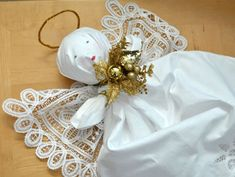 DIY gift idea tutorial - Angel Out Of Pillowcases