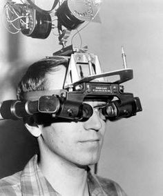 Ivan Sutherland head mounted VR display aka The Sword of Damocles 1968 #VR #ivansutherland