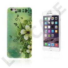 Blommor (Grön Blommor) iPhone 6 Plus Skal