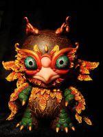 Phoenix idol by Santani