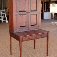Plantation Desk; Charles Neil Woodworking Custom Order Furniture