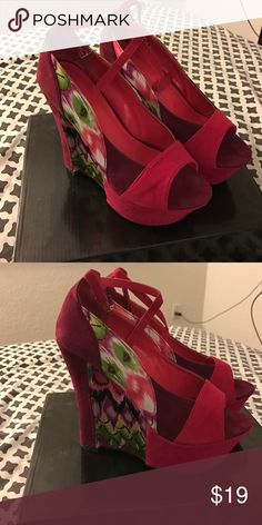 Multicolored wedges Multicolored wedges Liliana Shoes Wedges