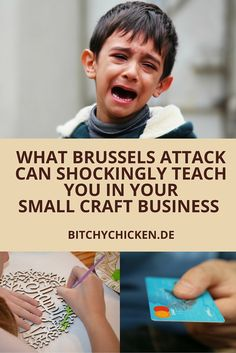 Any terror attack drives people insane, crazy, in paranoia. I've lived my life living in an island of rebels in the Philippines so I know how it feels. In this post, I'm sharing how the recent Brussels attack can actually teach you to be strategic enough to manage your own small craft business though you're a beginner. Read this post or re-pin to save for later. #BrusselsAttack #smallcreativebusiness #business