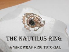 The Nautilus Ring  A Wire Wrap Tutorial by RachelsWire on Etsy, $6.00