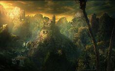 natural fantasy landscape image