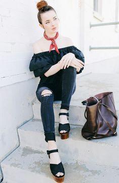 Jane Aldridge de Ombro a ombro com bandana