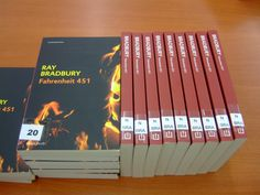 Primer llibre del Club de Lectura:  Ray Bradbury, Farenheit 451