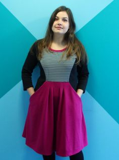 Sabina's Zadie dress - sewing pattern by Tilly and the Buttons