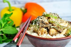 Low carb recepty s nízkym obsahom sacharidov Couscous, Asian Recipes, Healthy Recipes, Ethnic Recipes, Zucchini, Quinoa Gluten Free, Balsamic Vinegar Chicken, Japchae, Quick Easy Meals