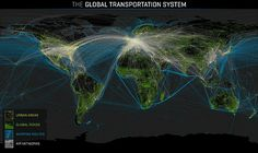 the global transportation system - maps