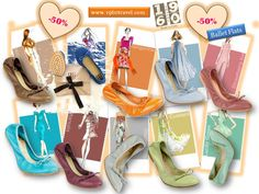 Ballet Flats 1960Travel Made in Italy  e-commerce-shoes  http://www.1960travel.com/#!outlet/c1ehv  Continuano i Saldi con Sconti fino al 50% !