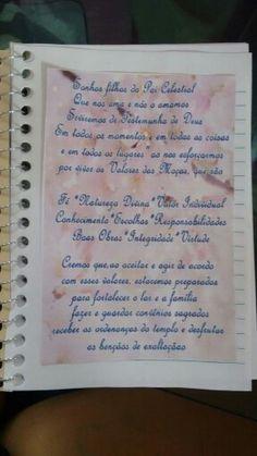 Dentro do caderno colei o tema das moças.