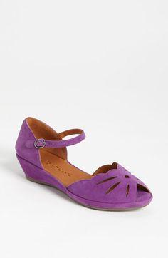 Gentle Souls 'Lily Moon' Sandal - heart this shoe! Beautiful Heels, Beautiful Things, May Weddings, Purple Reign, Purple Suede, Strap Sandals, Me Too Shoes, Footwear, Nordstrom