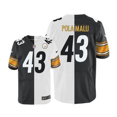 Troy Polamalu Men s Limited Team Road Two Tone Jersey  Nike NFL Pittsburgh  Steelers   a8ea469bc