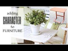 Should Furniture Match Retro Furniture, Refurbished Furniture, Furniture Projects, Furniture Makeover, Painted Furniture, Diy Furniture, Vintage Diy, Thrift Store Crafts, Dollar Tree Crafts