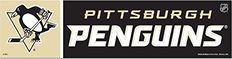 "NHL Pittsburgh Penguins 13344213 Bumper Strip, 3"" x 12"", Black #Pittsburgh #Penguins #Bumper #Strip, #Black"