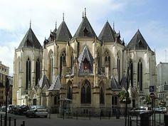 Eglise Saint Maurice - Lille (département du Nord)