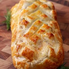 Puff Pastry Salmon (Salmon Wellington) Recipe by Tasty Salmon Dishes, Fish Dishes, Seafood Dishes, Fish And Seafood, Seafood Quiche, Fish Recipes, Seafood Recipes, Cooking Recipes, Dinner Recipes