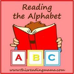 Free PreK Curriculum - Reading the Alphabet