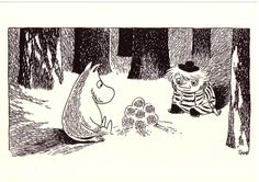 Happy Birthday Finland - 7 wonderful ways Finland influenced Tove Jansson's Moomin world - Moomin Moomin Tattoo, Moomin Books, Penguin Illustration, Moomin Valley, Tove Jansson, Happy Party, Art Direction, Adult Coloring, Finland