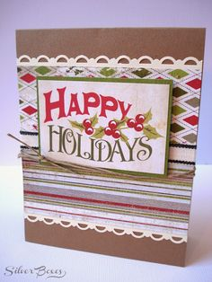 Silver Boxes: Five Days of Handmade Christmas Cards - Day Four: Twine!