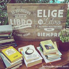 www.bodasdecuento.com Libros de autores colombianos y argentinos, como los novios, de regalo para los invitados en #inesyjuansecasan #cuentibodas #bodasdecuento #cuentibodas2014
