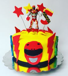 Power rangers cake Dino Charge