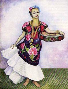 Diego Rivera. Retrato de Dolores Olmedo